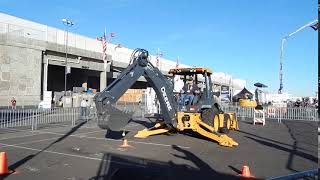 Video still for John Deere Skills Challenge at World of Concrete 2018