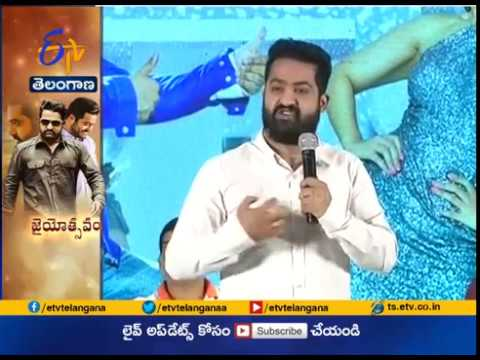 Jr NTR Makes Counters on Film Critics at Jai Lava Kusa Success Meet