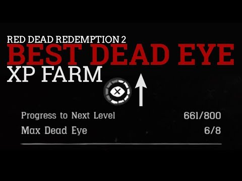 Red Dead Redemption 2 - BEST Way To Level Up Your Dead Eye And Collect Cards