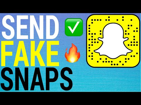 How To Send Fake Snaps On Snapchat (2020)