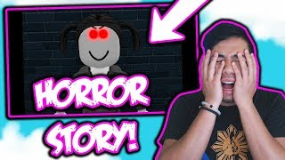 ROBLOX'S SCARIEST MURDER STORY?! | Reacting to AMY'S HALLOWEEN!