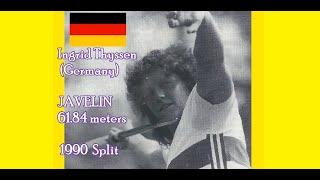 ... ingrid anna thyssen (born 9 september 1956 in aachen) is a retired west german javel...