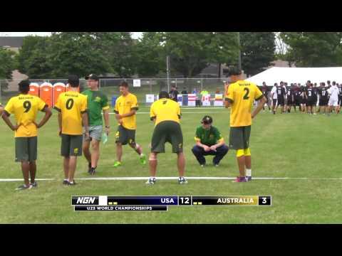 2013 U23 World Championships - USA vs Australia - Pool Play (M)
