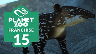 PLANET ZOO | EP. 15 - CUE-TAPIR-ANCES (Franchise Mode Lets Play)