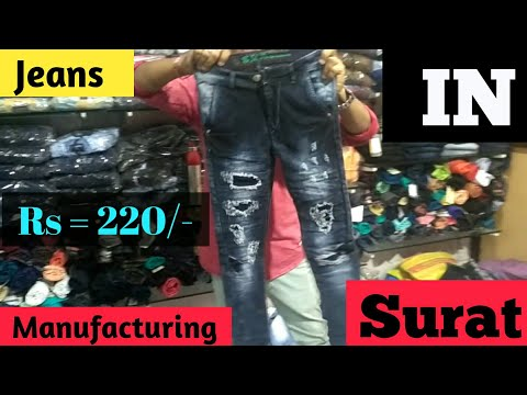 Jeans Manufacturing in Surat (FACTORY OUTLET)(daily vlogs)