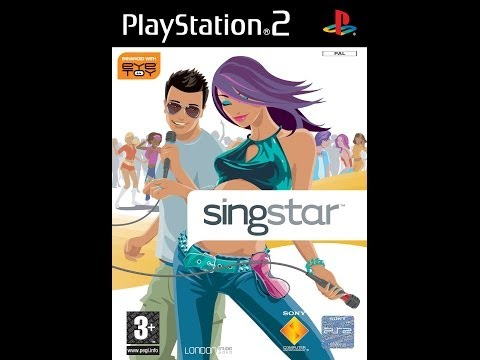 Playstation 2 - Singstar 2004 - Introduction - Gameplay Tracks