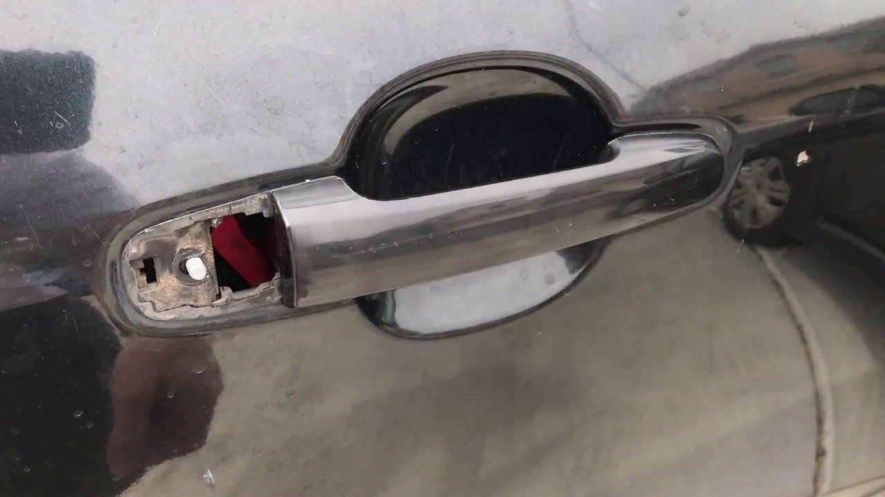 2009 Toyota Corolla Exterior Door Handle Replacement - YouTube