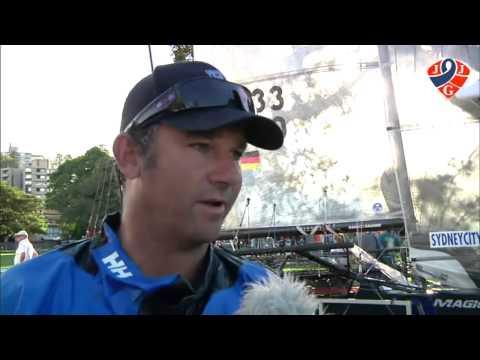 2014 JJ Giltinan 18ft Skiff Championship - David Witt Interview