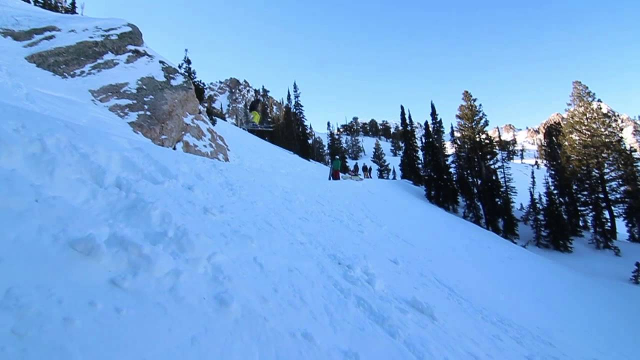 Boss Hog Snow Basin Crash