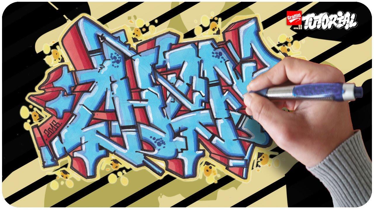 chef graffiti lernen schritt f r schritt youtube. Black Bedroom Furniture Sets. Home Design Ideas