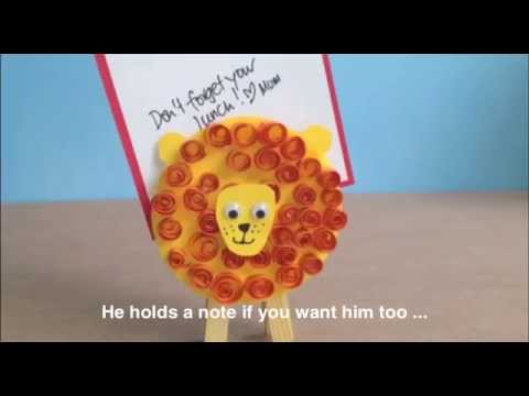 how to make a paper lion dance