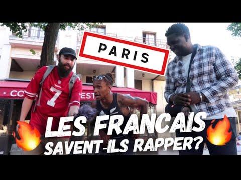 LES FRANÇAIS SAVENT-ILS RAPPER? (Paris)