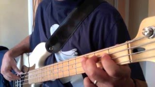 Holy Diver - BASS COVER - Ronnie James Dio