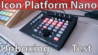 Icon Platform Nano Unboxing & Test