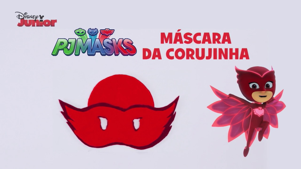 Tutorial Pj Masks Mascara Da Corujinha Youtube