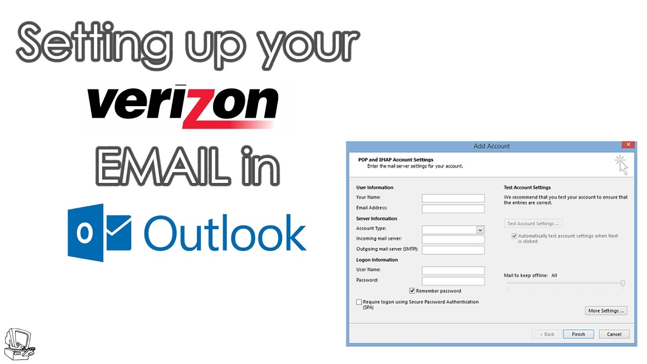Expert Tip ] How to setup Verizon Email Settings in Microsoft ...