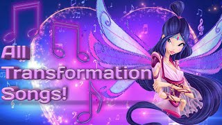 Winx Club all full transformation songs up to Onyrix in English