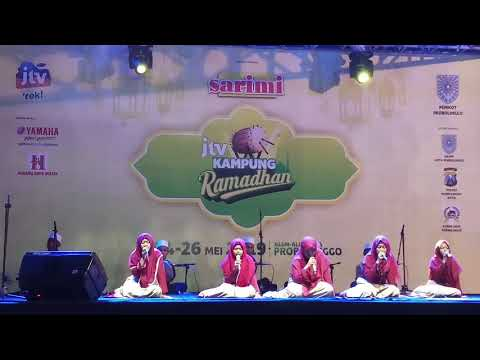 Al Hikmah Tampil Di Acara Kampung Ramadhan (Alun Alun Kota Probolinggo) Tgl 8 Mei 2019