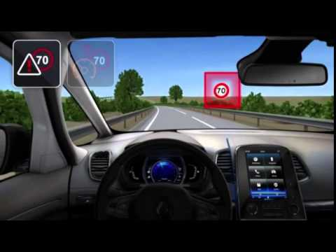 easy park assist head up display 4control youtube. Black Bedroom Furniture Sets. Home Design Ideas