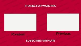 Cool Free 2D Outro Template 2017 ( No After Effects , No Sony Vegas)