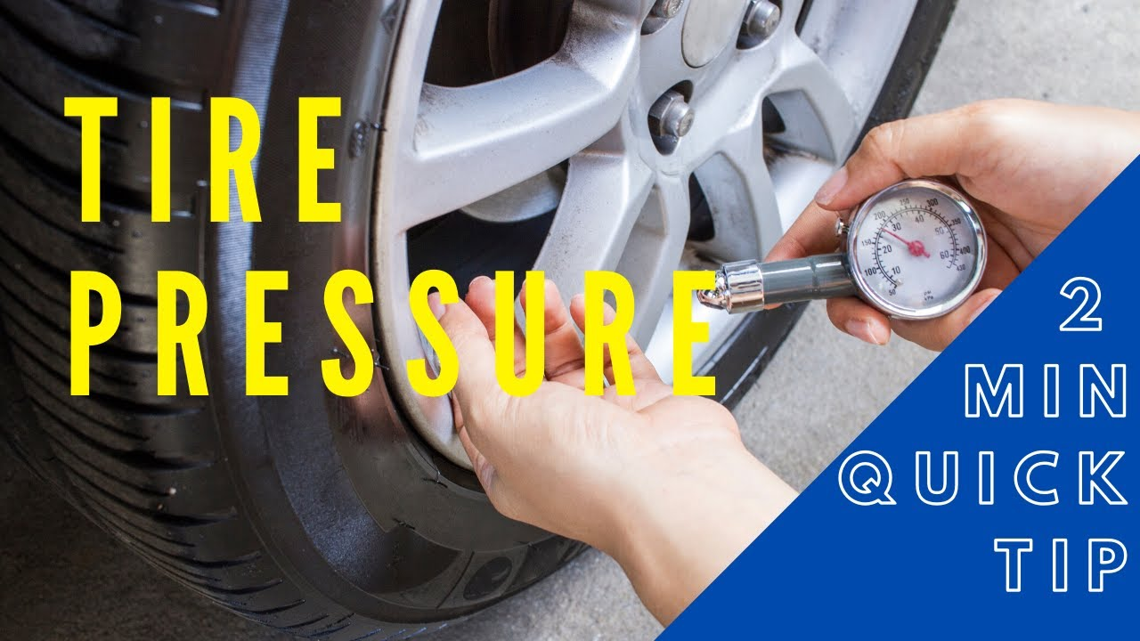 Tire Pressure || 2 Minute Quick Tip Video