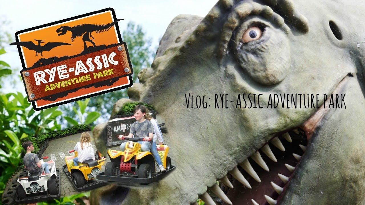 Ass Ic vlog :rye- assic adventure park   family day out
