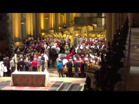 500 Year Anniversary of the Reformation Procession at The Cathedral of Saint John the Divine