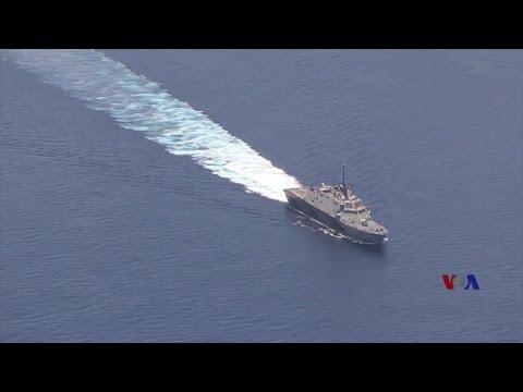 """中国人造岛礁军事设施""""经不住""""战火考验"""