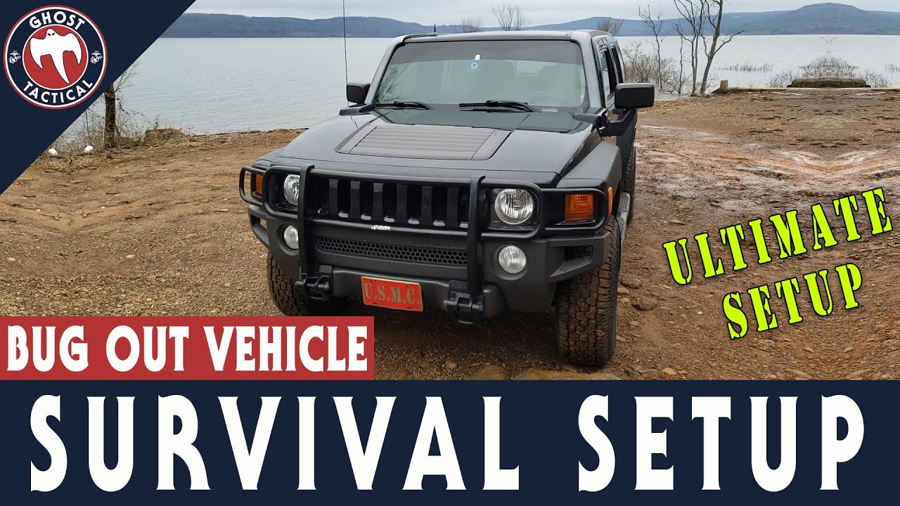 Survival Truck Setup:  Bug Out Vehicle Essential Gear