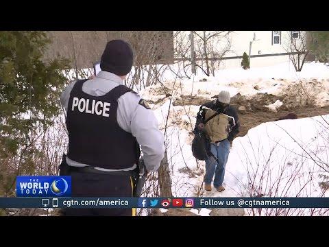 Increase in migrants illegally crossing US border into Canada