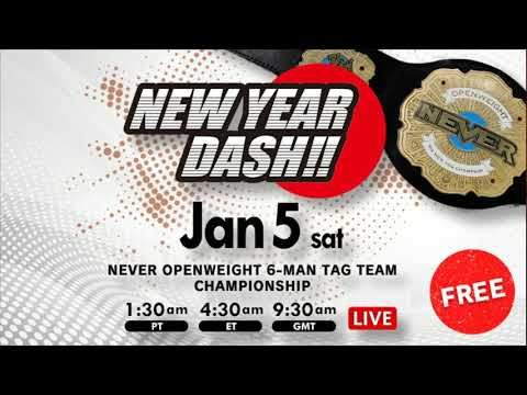 NL Live - NJPW New Year's Dash 2019 Live Commentary!