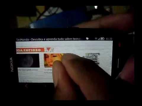 Web Browser Nokia 701 (Symbian Belle)
