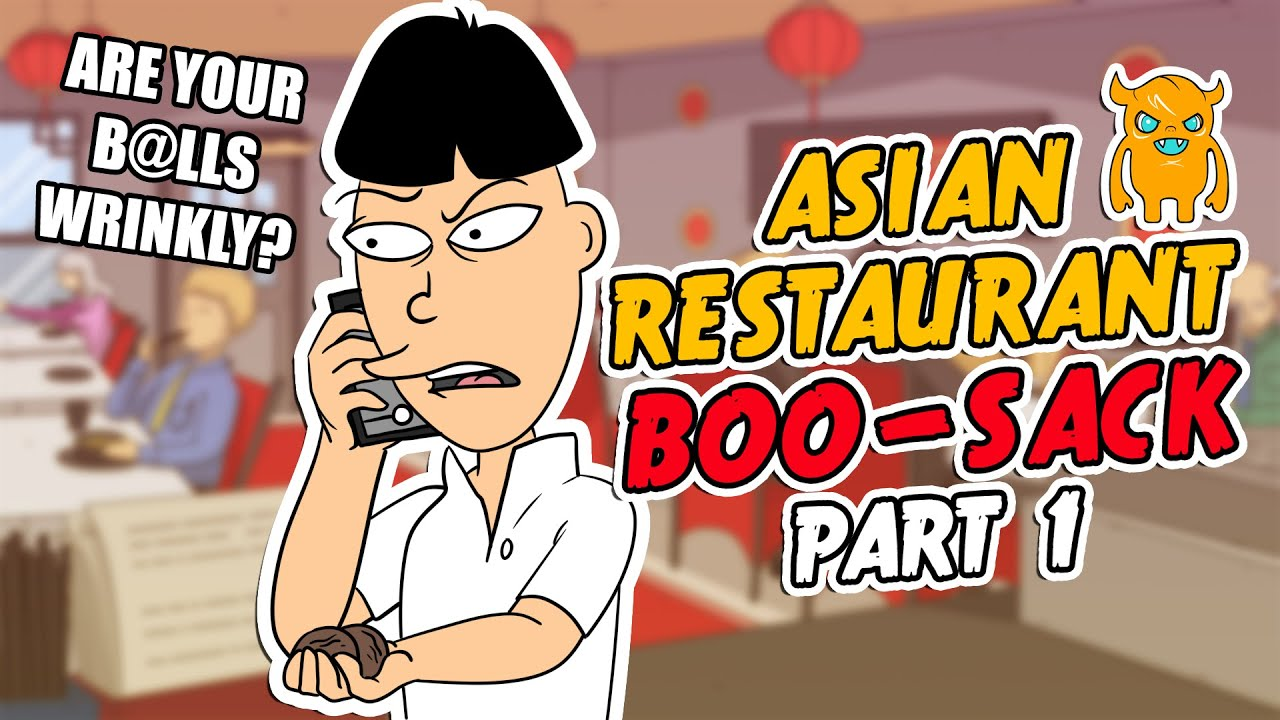 Epic Asian Restaurant PRANK 'Boo-Sack!' Part 1 - Ownage Pranks