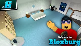 DESIGNING OUR BEDROOM in Welcome to BloxBurg!! - Ep. 6 | Roblox