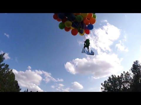 Calgary balloon man describes flight