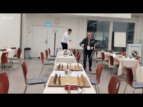 Nordic Youth Chess Championship 2018 Second Round Group B