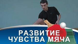 УПРАЖНЕНИЯ НАСТОЛЬНОГО ТЕННИСА для развития чувства мяча (Жонглирование в настольном теннисе)