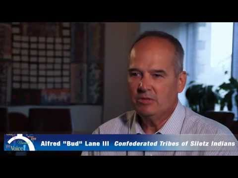 "Alfred ""Bud"" Lane III, Confederated Tribes of Siletz Indians"