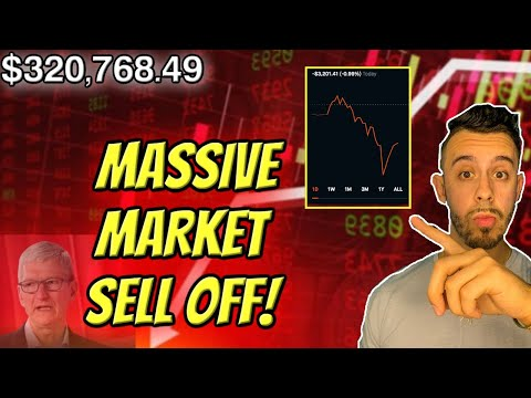 MAJOR MARKET SELL OFF! DOW -1000! What To Do NEXT! Robinhood Investing