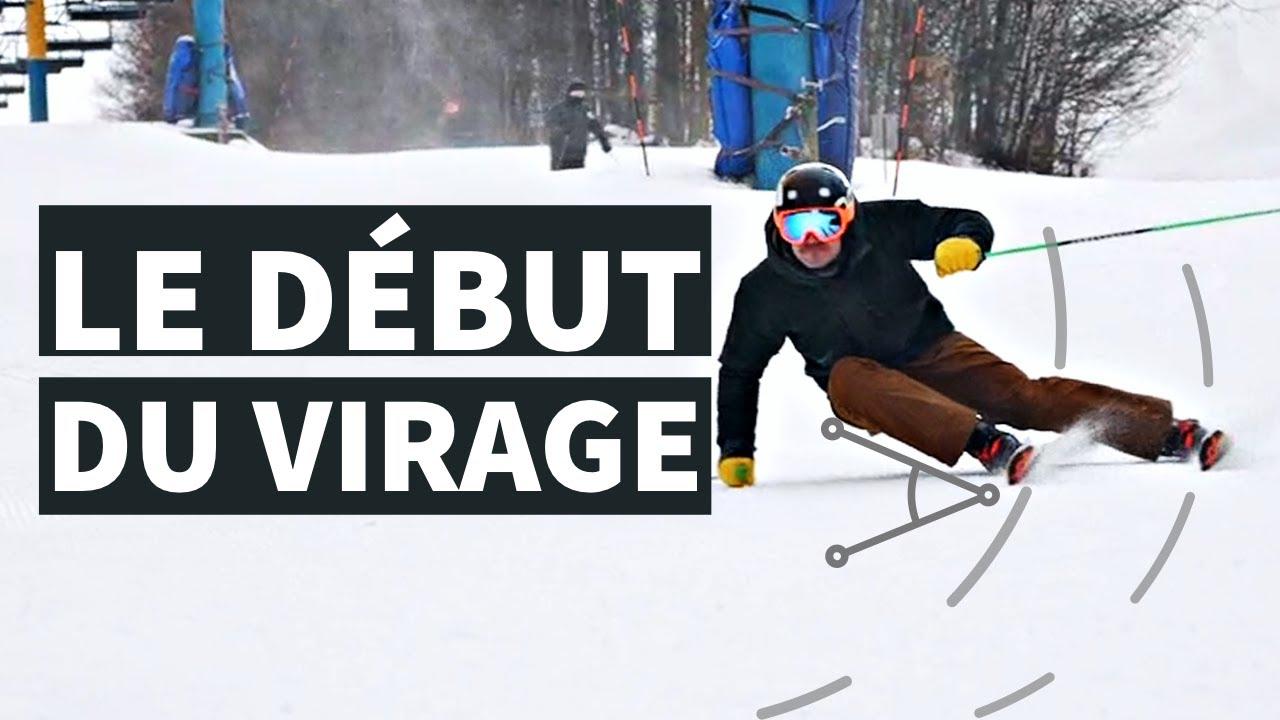 COMMENT AMÉLIORER SON DÉBUT DE COURBE - Technique de ski