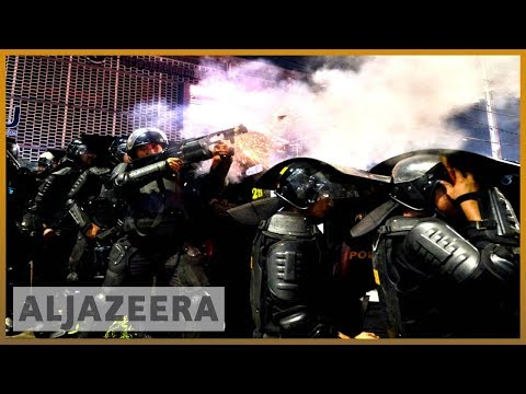 🇮🇩 Jakarta clashes rage in second night of unrest over poll result | Al Jazeera English