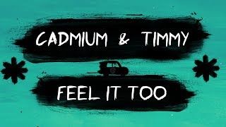 Cadmium &amp Timmy Commerford - Feel It too