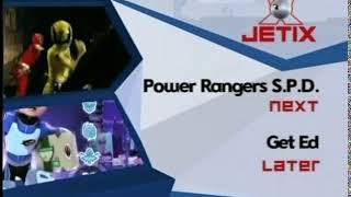 Jetix Power Rangers S P D  Next Get Ed Later Commercial