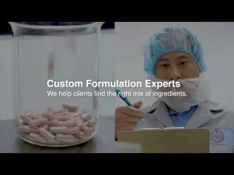 Nutritional Supplement Custom Contract Manufacturer - NAI