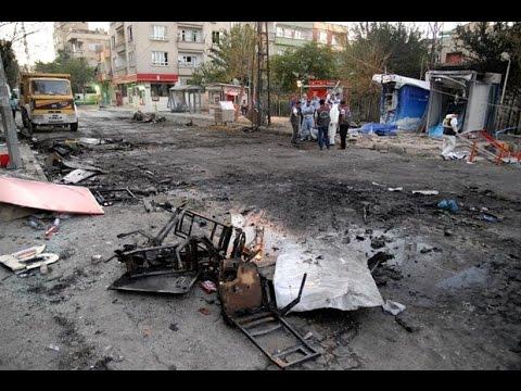Gaziantep'te Meydana Gelen Bombalı Saldırı Görüntüleri