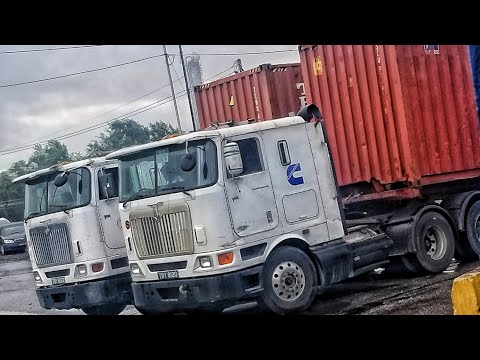 Navistar International 9800i Cabover with cummins isx compilation #Trinidad