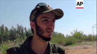 FSA sniper team targets soldiers at Syrian army checkpoint