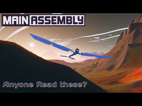 Main Assembly updates and a bird thingamajig! |