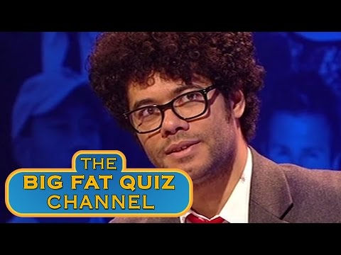 Best of Richard Ayoade  Big Fat Quiz Of The Year