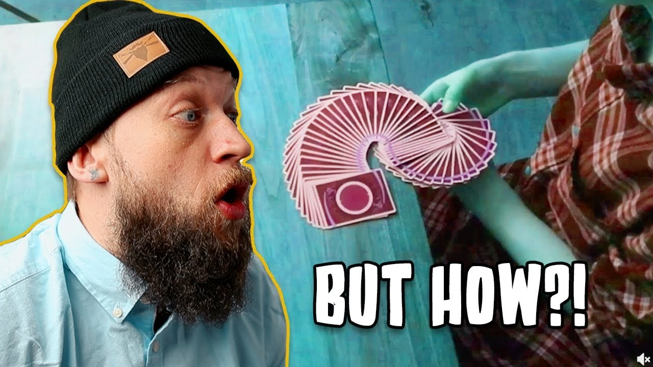 Magician Reacts to IMPOSSIBLE Card Manipulation!!